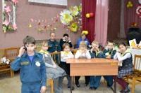 День добровольца в Озерском кадетском корпусе