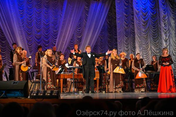 Солистка Мариинки спела с оркестром «Россияне»